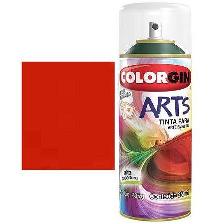 Colorgin Spray Arts P/grafiteiro Laranja 653
