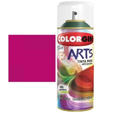 Colorgin Spray Arts P/grafiteiro Magenta 657