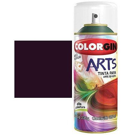 Colorgin Spray Arts P/grafiteiro Roxo Beterraba 658