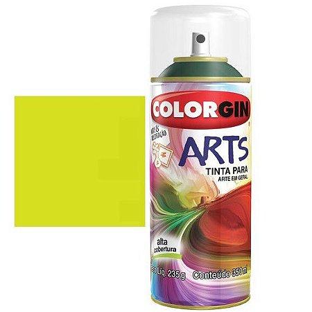 Colorgin Spray Arts P/grafiteiro Amarelo Limao 666