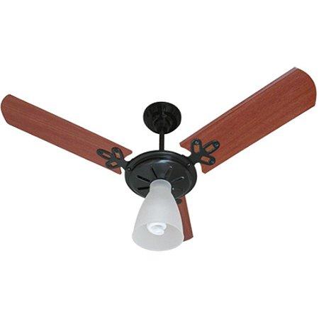 Ventilador Arlux 130w 3 Pas Preto/mogno 220 V - Ref 1108