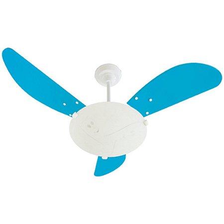 Ventilador Kids Branco/azul 220 V - Ref 1502