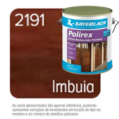 Verniz Restaurador Polirex Imbuia Sayerlack 3,6 Litros