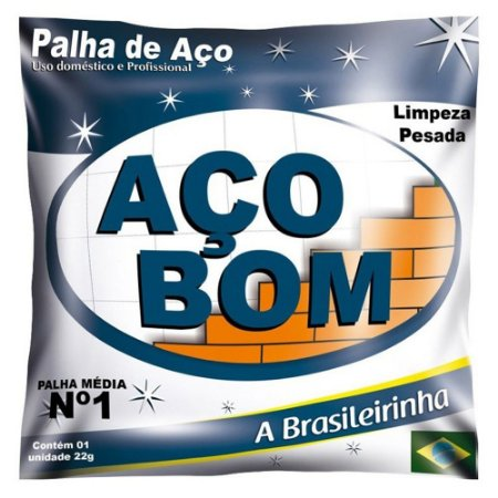 PALHA DE ACO - ACO BOM - NUMERO 1