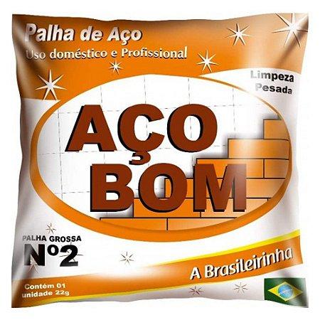 PALHA DE ACO - ACO BOM - NUMERO 2