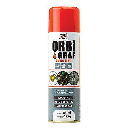 Grafite Spray OrbiGraf 300ml Lubrificante seco
