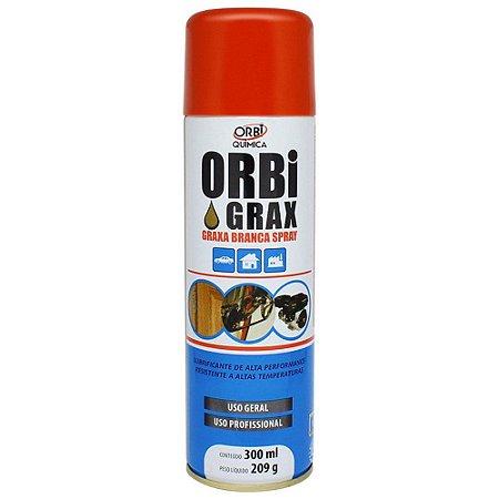 Graxa Spray Branca ObriGrax 300 Ml Orbi