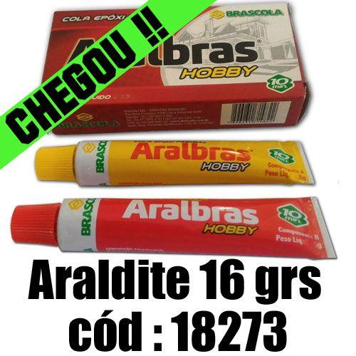 ARALDITE HOBBY RAPIDO PEQ 10 MINUTOS - 16 GRS