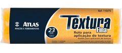 Rolo Textura Fina Atlas 23cm Ref 110/75