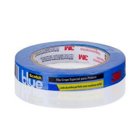 FITA CREPE BLUE TAPE 3M 2090-EP 18 MM X 50 M