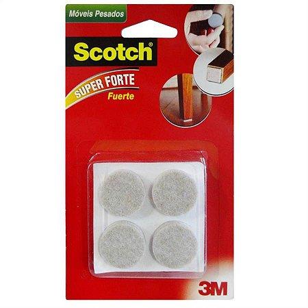 Feltro Móveis Pesados Redondo G 3m Scotch