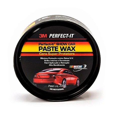 Cera Super Protetora Paste Wax 200g 3m O Melhor Preço