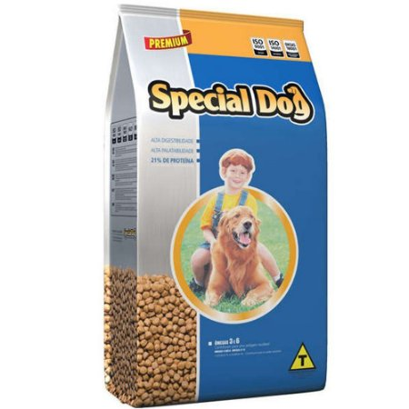 Racao Special Dog Caes Carne - 15 Kgs
