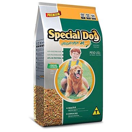 Raçao Cães Special Dog Premium Vegetais 25 Kg