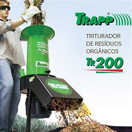 Triturador Residuos Organicos Trapp Bivolt Motor 1,5cv Tr200