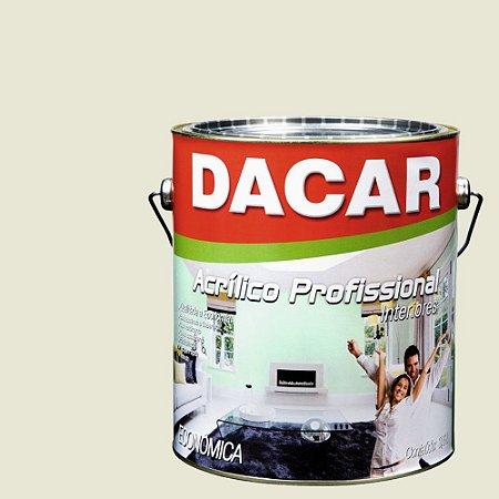 Tinta Acrílica Dacar Fosco Profissional 3,6 L Gelo