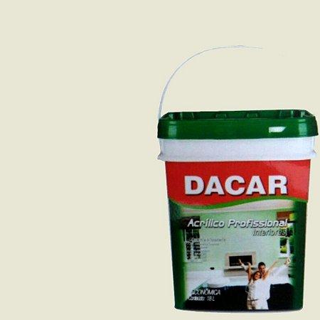 Tinta Acrílica Balde Dacar Fosco Profissional 18 L Gelo