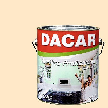 Tinta Acrílica Dacar Fosco Profissional 3,6 L Perola