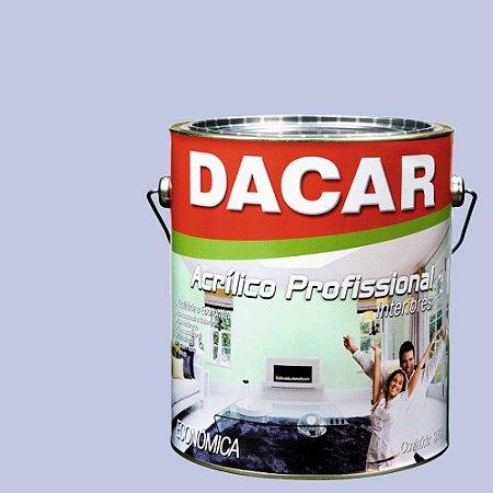 Tinta Acrílica Dacar Fosco Profissional 3,6 L Lilás