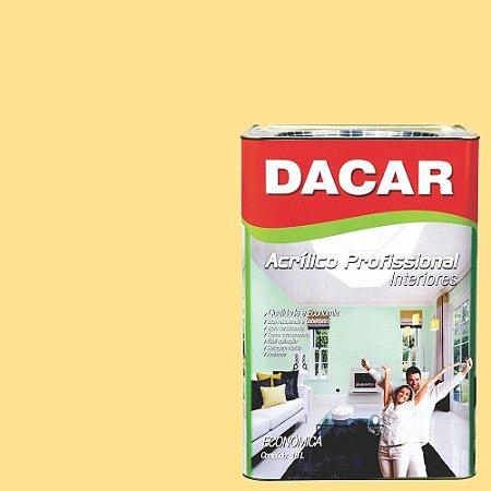 Tinta Acrílica Dacar Fosco Profissional 18 L Vanilla
