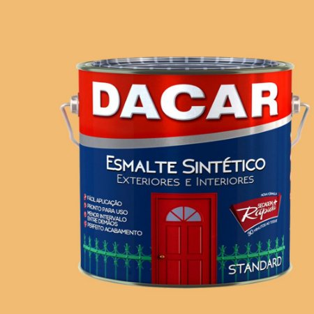 Tinta Esmalte Sintético Standard Dacar Creme 225 ml
