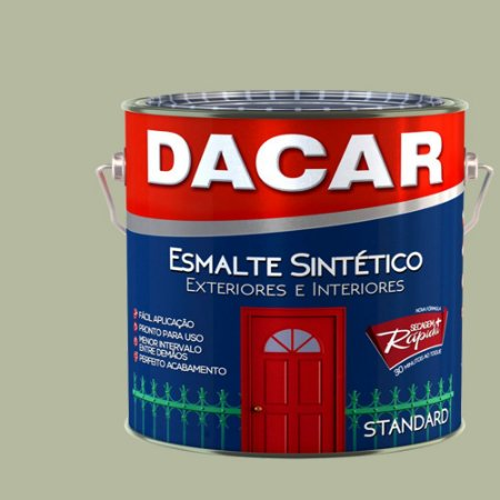 Tinta Esmalte Sintético Standard Dacar Platina 900 Ml