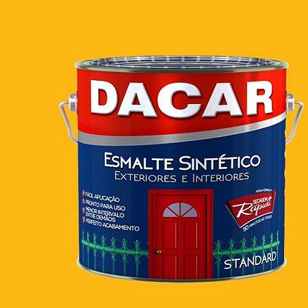 Tinta Esmalte Sintético Standard Dacar Amarelo 3,6 Lts
