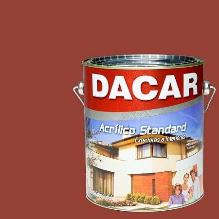 Tinta Esmalte Standard Dacar 3,6 L Vermelho