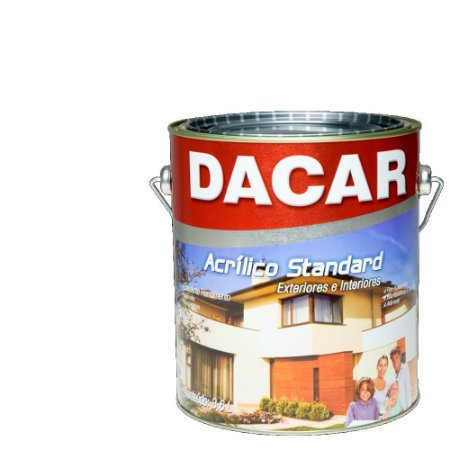Tinta Acrilico Latex Standar Dacar 3,6 L Branco