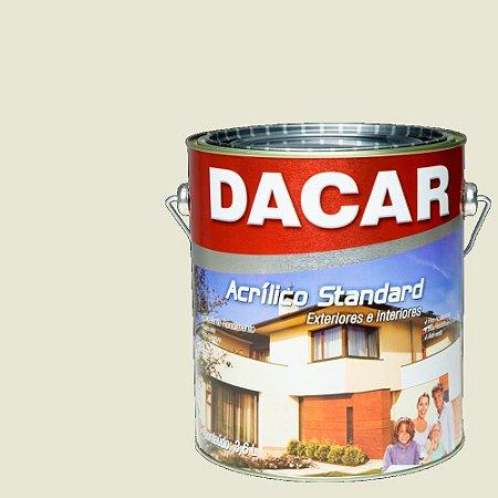 Tinta Acrilico Latex Standar Dacar 3,6 L Gelo