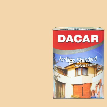 Tinta Acrilico Latex Standar Dacar 18 L Areia