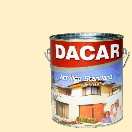 Tinta Acrilico Latex Standar Dacar 3,6 L Marfim