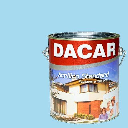 Tinta Acrilico Latex Standar Dacar 3,6 L Azul Céu