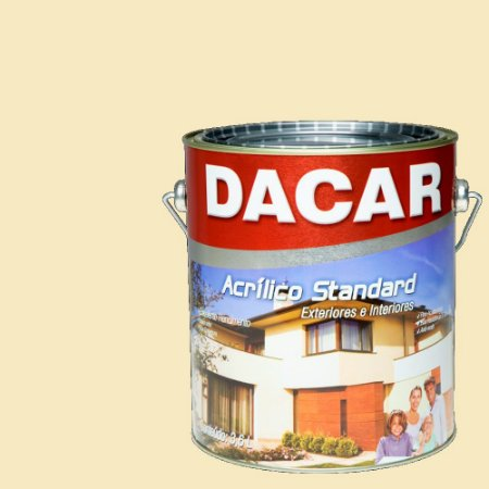 Tinta Acrilico Latex Standar Dacar 3,6 L Palha