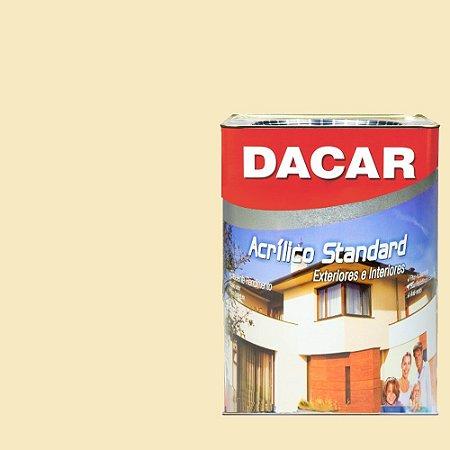 Tinta Acrilico Latex Standar Dacar 18 L Palha