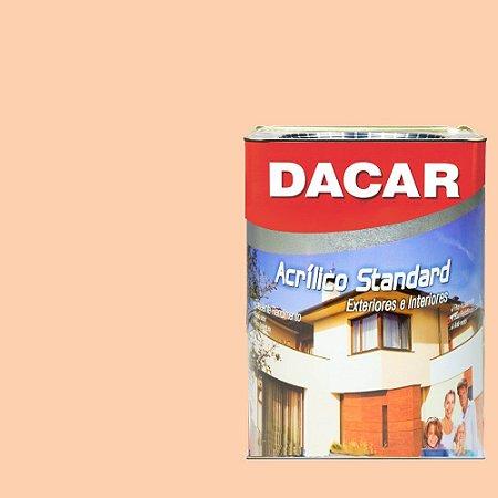Tinta Acrilico Latex Standar Dacar 18 L Pessego