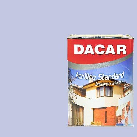 Tinta Acrilico Latex Standar Dacar 18 L Lílas
