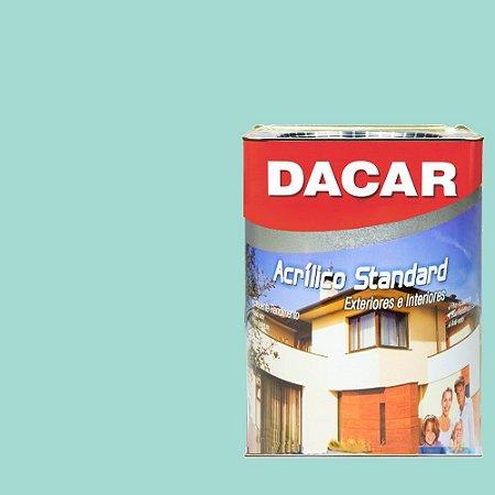 Tinta Acrilico Latex Standar Dacar 18 L Verde Piscina