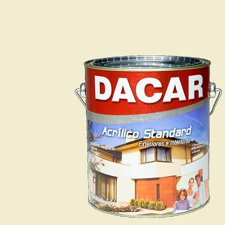 Tinta Acrilico Latex Standar Dacar 3,6 L Bianco Sereno