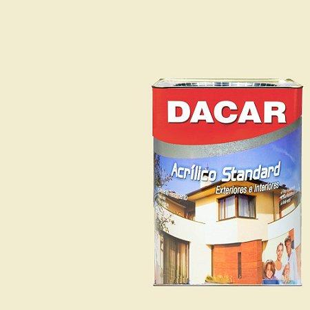 Tinta Acrilico Latex Standar Dacar 18 L Bianco Sereno