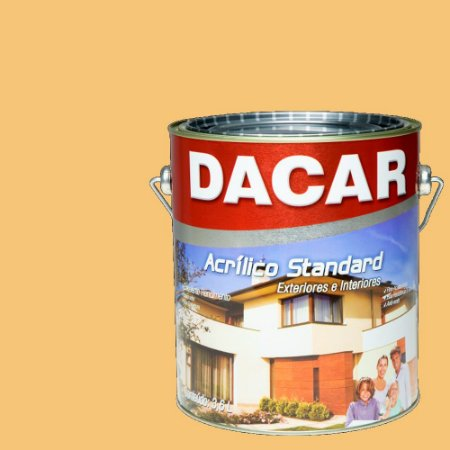 Tinta Acrilico Latex Standar Dacar 3,6 L Mel