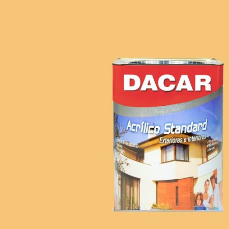 Tinta Acrilico Latex Standar Dacar 18 L Mel