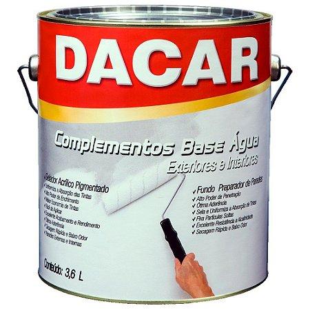 Selador Acrílico Pigmentado Dacar 3,6 Lts