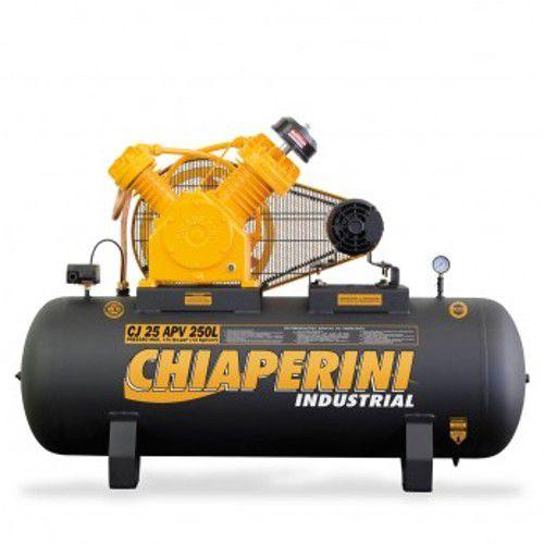 Compressor 25 Pcm/apv 250 Lts 175libra Trifásico Chiaperini-