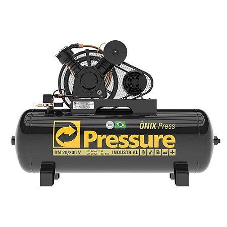 Compressor Onix 20 Pés 200 Litros 175 Libras Trifásico 350v