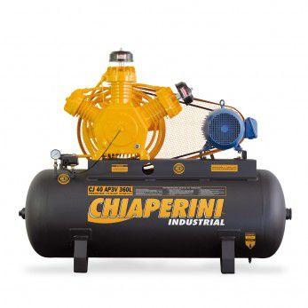 Compressor 40 Pcm/apv 360 Litros Trifásico Chiaperini-40360