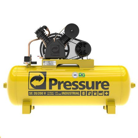 Compressor De Ar 200 Litros 20 Pés Se 20/200v Pressure