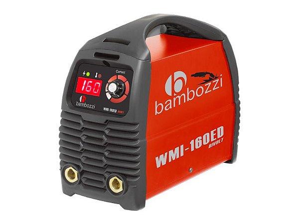 Maquina De Solda Eletrica Bambozzi 160ed Wmi Bivolt