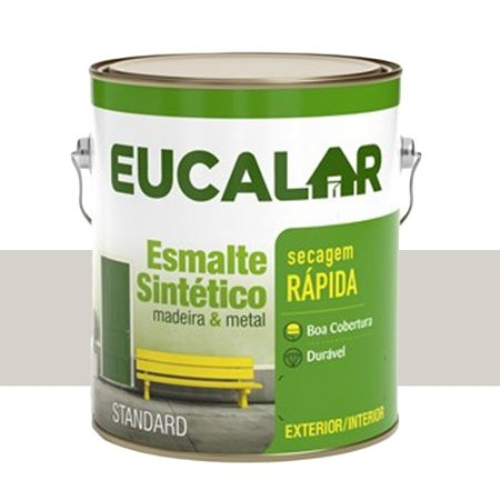 Tinta Esmalte Sintético Eucalar Gelo 3,6l Eucatex