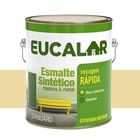 Tinta Esmalte Sintético Eucalar Marfim 900 Ml Eucatex